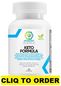Ingredient Science Keto Formula