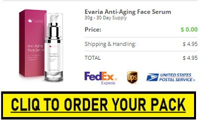 Evaria Face Serum Trial Pack